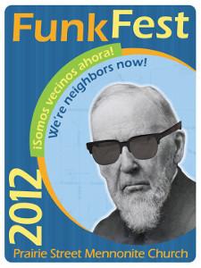 Funk Fest 2012 flyer